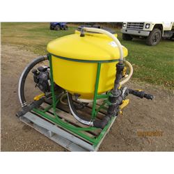 CHEM HANDLER WATER TANK AND PUMP