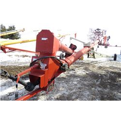 "FARM KING 13"" X 70' HYDRAULIC SWING AWAY AUGER"