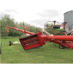 "2014 FARM KING 13"" X 70' HYDRAULIC LIFT SWING AWAY AUGER"