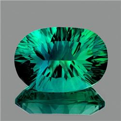 Natural Emerald Green Blue Fluorite 16.91 Ct - VVS