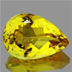 Natural Whisky Golden Yellow Citrine 10.08 Ct {VVS}