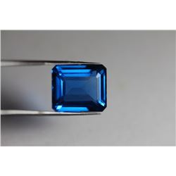 Natural London Blue Topaz 18.25 carats - VVS