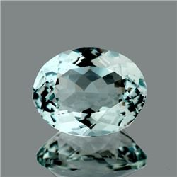 Natural Light Sky Blue Aquamarine 3.36 Ct - VVS