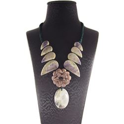 Natural Stone Hand Made Necklace