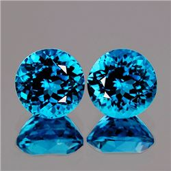 Natural Swiss Blue Topaz 6.00 mm - Flawless