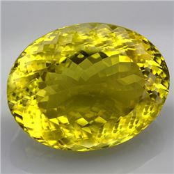 Natural Lemon Citrine Gemstone 71.01 Carats - VVS