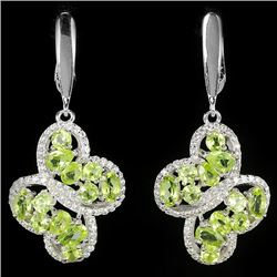 Natural Peridot Earrings