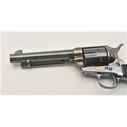 17ME-1 COLT SA #1115171st Generation Colt SAA revolver, .45  caliber, Serial #111517.  The pistol ha