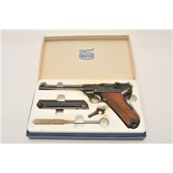 18AJ-3 AM. EAGLE LUGERAmerican Eagle Luger by Mauser Oberndorf  semi-automatic pistol, 9mm Luger cal