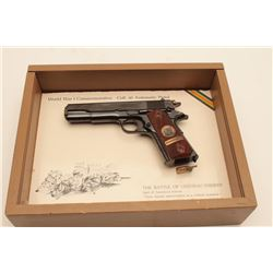 18AL-52 1911 COMM COLT #6527CTColt Chateau Thierry Model 1911 Commemorative  semi-automatic pistol,