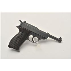 17MH-5 WALTHER P38 #7269DWalther P-38 semi-automatic pistol, ac 42  marked, nazi proofed, 9mm calibe