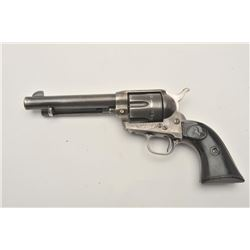 17ME-3 COLT 2ND GEN #9768SA2nd Generation Colt SAA revolver, .45  caliber, Serial #9768SA.  The pist