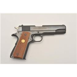 17AJ-7 COLT SERIES 70 #65272B70Colt MK IV Series 70 Government Model  semi-automatic pistol, .45 cal