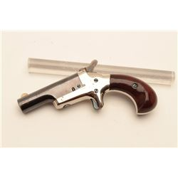 18BL-3 COLT THIRD MDL #NSNVColt Third Model Derringer, .41 caliber,  serial #NSNV.  The pistol is in