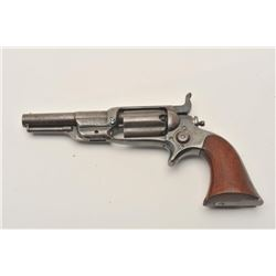 "18ASS-6 ROOTColt Root spur trigger revolver, .31 caliber,  3.5"" barrel, blued finish, wood grips, S/"