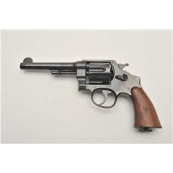 18AA-3 S&W 1917 #55339Smith and Wesson US Army Model 1917 revolver,  .45 caliber, Serial #55339.  Th