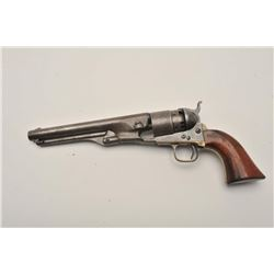 18BD-6 COLT 1860 #35Colt 1860 Army .44 caliber revolver, S/N 35  with ultra-rare early variation sho