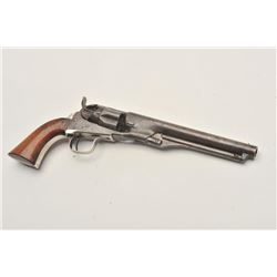 "18CMT-1 COLT 1862 #42Colt Model 1862 Police percussion revolver,  .36 caliber, desirable 6 ½"" barrel"