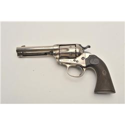 "18BG-5 COLT BISLEY #122768Colt Bisley Model single action revolver, .32  W.C.F. caliber, 4.75"" barre"
