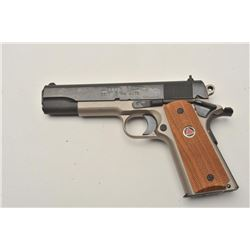 18BM-1 COLT ELITE #DE16489Colt Elite Ten 10 MM, #DE16489, two tone  finish, stainless frame with blu