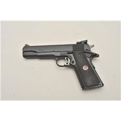 "18BM-15 COLT MATCH TENColt Match 10 Government Model, 10MM,  #MTEN213, 5"" barrel, adjustable trigger"
