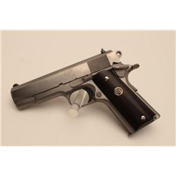 "18BM-17 COLT COMMANDERColt Super Commander, .38 Super cal.,  #CSC555, stainless, 4 1/4"" barrel, stai"