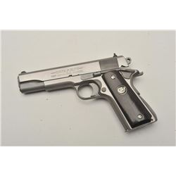 "18BM-4 COLT DELTA ELITE #10SS0156Colt  Delta Elite First Edition Stainless, 10  MM, #10SS0156, 5"" ba"