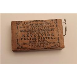 18AN-12 COLT .36 CAL. POLICE SKIN CARTRIDGE PKColt .36 caliber Police skin cartridge pack  made of H