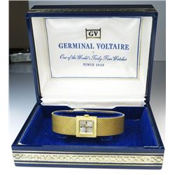 18CAI-68 GERMINAL VOLTAIRE MECHANICAL SWISSElegant ladies Germinal Voltaire mechanical  Swiss made w