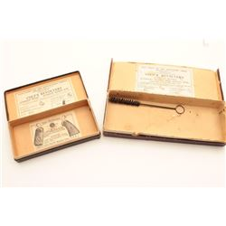 """18AN-22 BOX LOTLot of 2 Colt boxes. One is for a Pocket  Positive with 2 ½"""" barrel in fair to good"""