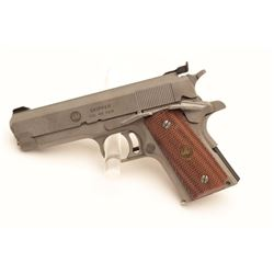 18BM-57 AMT SKIPPERIAI (Irwindale Arms Inc) Skipper .40 S&W  cal., compact stainless semi auto pisto