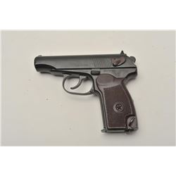 "18BM-59 MAKAROV 59Norinco Model 59 Makarov pistol, 9x18 cal.,  #ZZ272705, 3 5/8"" barrel, blued finis"