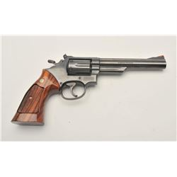 "17MH-56 S&W 19-5 #168K247Smith & Wesson Model 19-5 DA revolver, .357  Magnum caliber, 6"" barrel, tar"