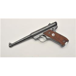 18AA-4 RUGER MARK II #486205Ruger Mark II semi-auto pistol, .22 Long  Rifle caliber, Serial #486205.