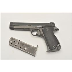 17MH-6 FRENCH MAS #2934AFrench MAS Model 1935A semi-automatic pistol,   7.65mm caliber, military fin