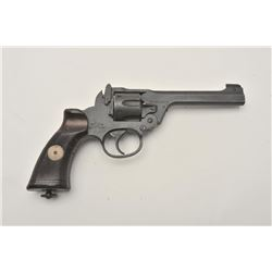 17MH-12 ENFIELD #L1070Enfield No. 2 MK 1 DA revolver, 1940 dated,  .38 caliber, mat black finish, Br