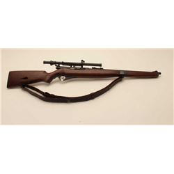 17KH-579 MOSSBERG 51Mossberg Model 51M semi-automatic rifle, .22  LR caliber, blued finish, wood sto