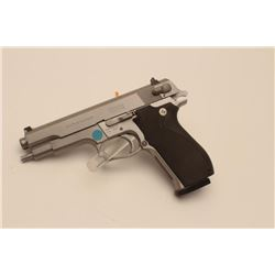 "18BM-69 645 .45 SPECIALSmith & Wesson 645 stainless .45 ACP semi  automatic pistol, #TBU2637, 5"" bar"