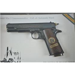17LU-2 WWI COLT COMM #222BWColt WW I Commemorative The Meuse Argonne  Offensive, #222-MA, .45 ACP, h