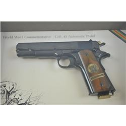 17LU-3 WWI COLT COMM #222MAColt WW I Commemorative The Battle of Belleau  Wood, #222-BW, .45 ACP, hi