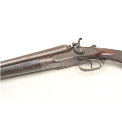 16IN-6 MANTON & RICHARD #10278Manton & Richards side by side hammer  shotgun, approximately 12 gauge