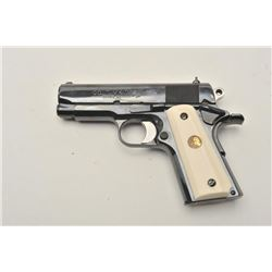 18BM-35 COLT OFFICER'SColt Officers Model 150th Year, .45 ACP,  #150TH YEAR 1986 07, high polish roy