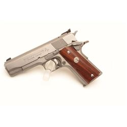 "18BM-34 COLT GOLD CUPColt Golt Cup Commander Custom Edition .45  ACP, #GCC0699, 4 1/4"" barrel, stain"