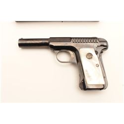18CA-21 SAVAGE MDL 1915Savage Model 1915 hammerless .380 caliber  semi-auto pistol in excellent orig