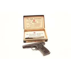 18CA-22 REMINGTON MDL 51Remington Model 51 Semi-Auto pistol in .380  caliber remaining in near mint
