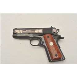 18BM-28 COLT OFFICER'SColt Officer's Model Commencement Issue .45  ACP, #FA00202, blued finish with