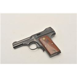 18BX-1 S&W MDL 35Smith & Wesson Model 35 semi-auto pistol in  .35 caliber, S/N 7353. This pistol is