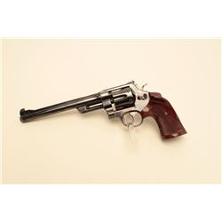 17JL-60 S&WSmith & Wesson pre-Model 27 DA revolver,  5-screw frame (upper frame screw missing),  .35