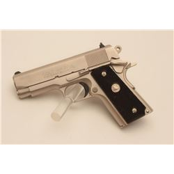 18BM-27 COLT OFF. ACPColt Officers Model Series 80, .45 ACP,  #FA17284, satin nickel finish, 3 1/2""