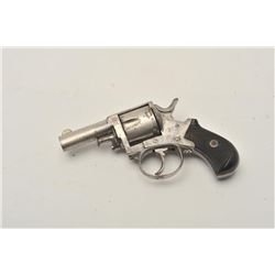 "18CA-311 FOREHAND & WADSWORTH REV.Forehand & Wadsworth U.S.A. made revolver  marked ""British Bulldog"